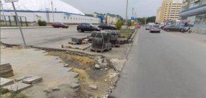Ремонт улицы Антонова. Фото пресс-службы администрации Пензы