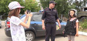 Юные видеоблогеры. Фото управления Росгвардии по Пензенской области