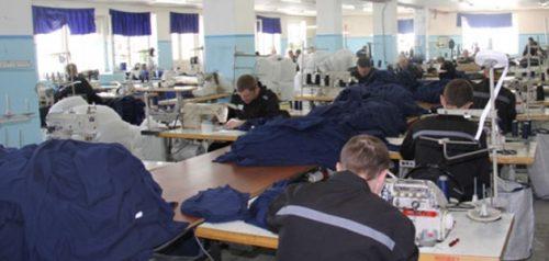 Швейный цех. Фото пресс-службы УФСИН РФ по Пензенской области