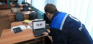 Видеонаблюдение на ЕГЭ. Фото ПАО «Ростелеком»