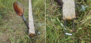 Фонарный столб. Фото следственного управления СК РФ по Пензенской области