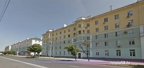 Улица Кирова в Пензе