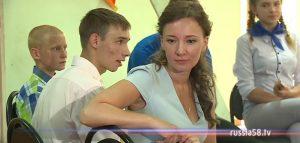 Анна Кузнецова в лагере «Радуга»