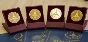 Медали конкурса «Всероссийская марка»