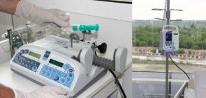 Инфузомат и помпа для энтерального питания. Фото ТФОМС Пензенской области