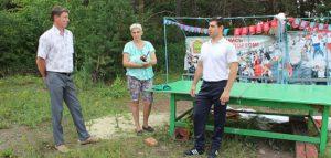 Детская площадка в Кузнецке. Фото газеты «Кузнецкий рабочий»