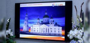 Подсветка Спасского собора. Фото правительства Пензенской области