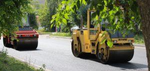 Ремонт дорог. Фото пресс-службы администрации города Пензы