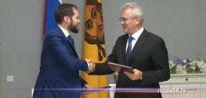 Виктор Королев и Иван Белозерцев подписали соглашение о сотрудничестве