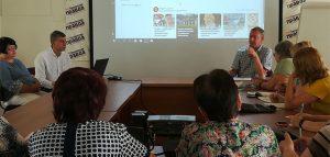 Обсуждение фестиваля «А мы из Пензы». Фото департамента информационной политики и СМИ Пензенской области