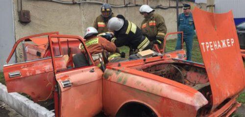 Аттестация пожарных. Фото ГУ МЧС РФ по Пензенской области