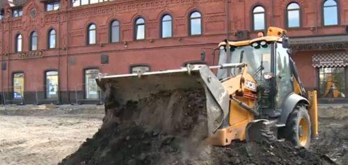 Ремонт площади Ленина в Пензе