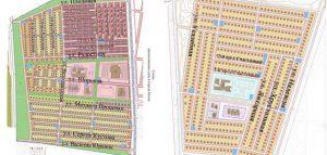 Схема новых улиц