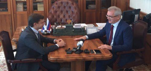 Андрей Клычков и Иван Белозерцев. Фото пресс-службы правительства Пензенской области