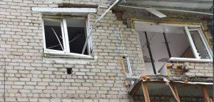 Аварийный дом на улице Крупской. Фото администрации Пензы