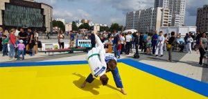 Презентация на Юбилейной площади. Фото Федерации дзюдо Пензенской области