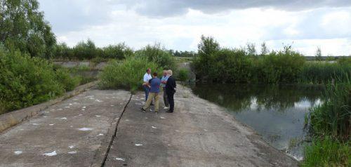 Плотина на реке Грязнуха в Башмаковском районе. Фото Минсельхоза Пензенской области