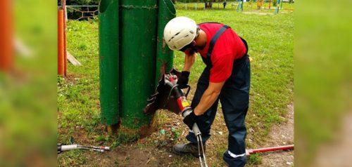 Спасатель за работой. Фото ПССЦ