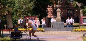 Сквер имени М.Ю. Лермонтова в Пензе