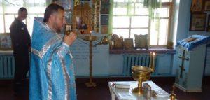 Богослужение в ИК-7. Фото пресс-службы УФСИН России по Пензенской области