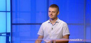 Руководитель пензенского военно-исторического клуба «Аванпост» Томас Янчаускас