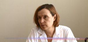 Заведующая отделением врачей общей практики поликлиники пензенской поликлиники №2 Наталья Столярова