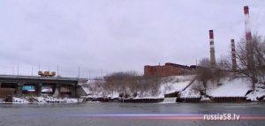 Гидросооружение в Пензе