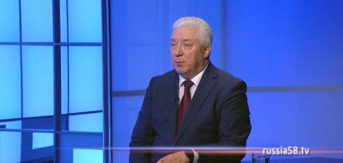 Ректор Пензенского государственного университета Александр Гуляков