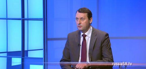 Заместитель председателя правительства Пензенской области Олег Ягов